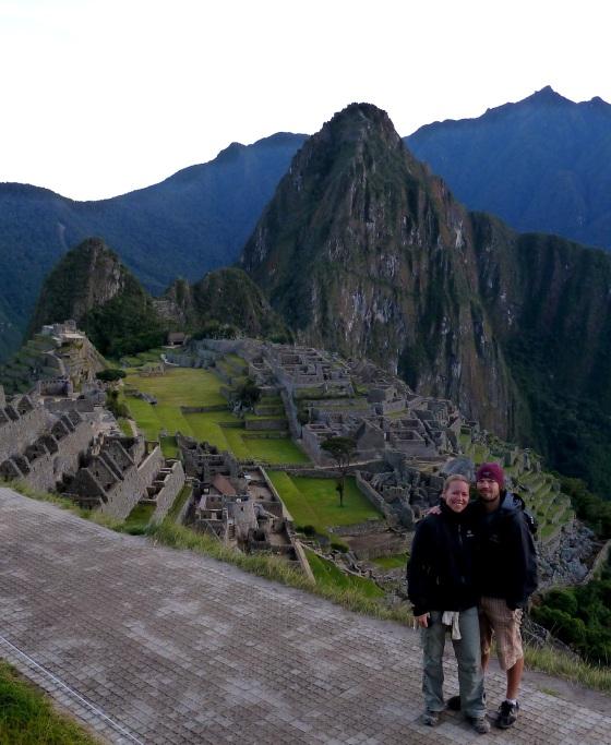 Machu Picchu portrait