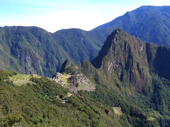 machu Picchu Sun Gate