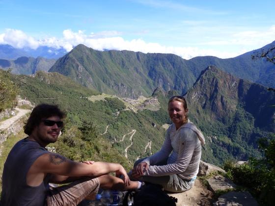 Sun Gate Machu Picchu Inca Trail