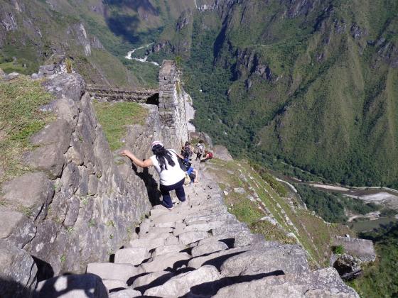 wayna picchu trail, machu picchu
