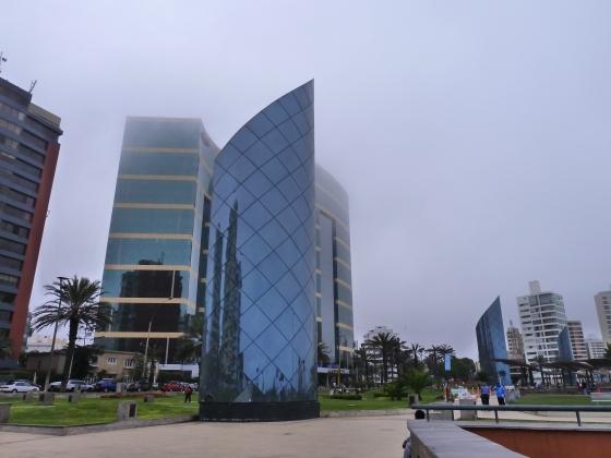 Oceanfront architecture, Miraflores Lima Peru