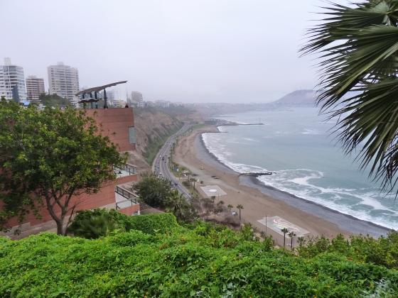 Miraflores surf breaks Lima Peru
