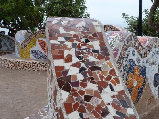 Park Del Amor Miraflores Lima Peru