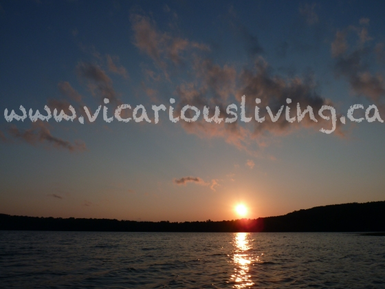 northern ontario sunset photo